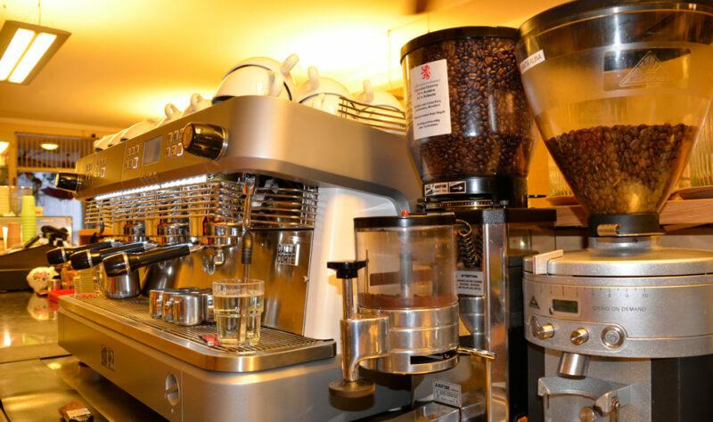 Kaffeebar unser Herzstück