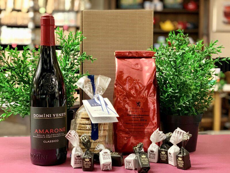 Versandfertiges Geschenk Genussreise Italinen